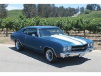 This Chevrolet Chevelle SS LS3 396 Four-Speed is
