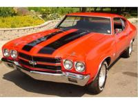 1970 . . . CHEVELLE SS. . . . CLONE. . . . RED PAINT