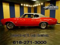 1970 Chevrolet Chevelle SS for sale. This is a true SS,
