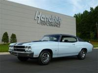 This 1970 Chevrolet Chevelle LS6 features a 454 LS6 V8