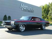 This 1970 Chevrolet Chevelle SS features a 6.2