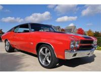 You are looking at one gorgeous 1970 Chevelle True SS