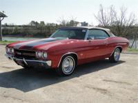 1970 CHEVROLET CHEVELLE. THIS CAR HAS A 454 CUBIC INCH