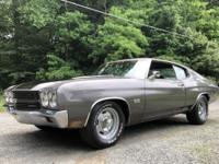 1970 Chevrolet Chevelle Base 350 V8 Auto Low Miles.