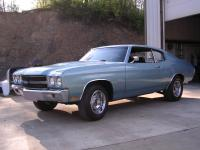 70 Chevelle with some SS trim.  I was 24 years old, it