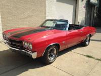 1970 CHEVELLE SS CONVERTIBLE 454 HYDRO JET , 12 BOLT GM