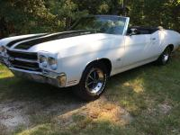 1970 Chevelle SS Convertible, LS5 454 Turbo 400, 12