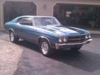 1970 Chevrolet Chevelle Malibu American Classic 89,000