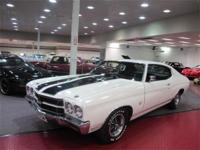 This 1970 Malibu is outfitted with black SS deck
