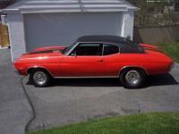 Im selling my 1970 Chevrolet Chevelle. Ive owned the