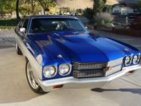 1970 Chevelle SS  The builder heralds a heritage in