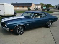 1970 Chevelle SS 396/375HP L78  - This is the real deal