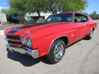 1970 Chevrolet Chevelle SS 454 450hp LS6 that is in