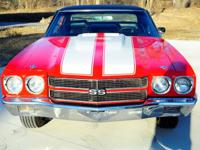 1970 Chevrolet Chevelle SS 454ci V8 Coupe Beautiful