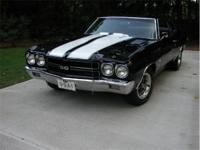 1970 '70 LS6 Chevelle SS Black on Black- DOCUMENTED!