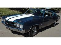 1970 Chevelle SS 454/468 You are looking at one of the