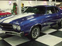 Year: 1970 . Make: Chevrolet . Model: CHEVELLE . Trim: