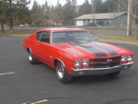 This 1970 chevy chevelle ss tribute car is restored and