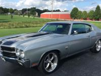 NICE 1970 Chevelle SS LS1 Engine!  Running a nice