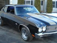 1970 Chevelle SS ,Tribute. -Rebuilt 350 /30 over -350