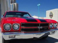 This 1970 Chevrolet Chevelle SS Clone Coupe showcases a