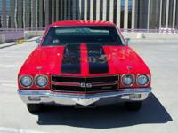 This 1970 Chevrolet Chevelle SS Clone Coupe features a