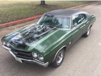 Up for bid is this Original True 1970 Chevrolet