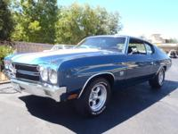 A 70 Chevelle! Equipped with a period right 350 small