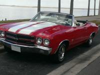 This Chevelle Convertible is rust free and retains