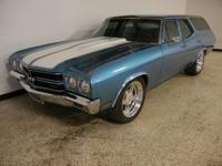 1970 Chevrolet Chevelle SS Wagon. 400 V8 engine