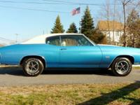 Beautiful Razor Straight 1970 Chevrolet Chevelle SS 454