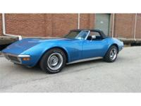 Year: 1970 Make: Chevrolet Model: Corvette Exterior