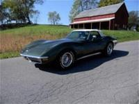 Beautiful Frame on Restored 1970 Chevrolet Corvette