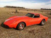1970 Chevrolet Corvette Stingray T Tops, New Crated 350