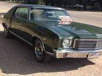 1970 Chevrolet Monte Carlo in Excellent Condition Green