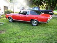 NEWLY REDUCED PRICE! 1970 Chevrolet Monte Carlo