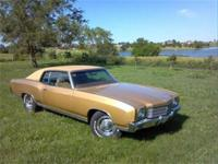 70 Monte Carlo, numbers matching 350 2bbl, TH350