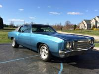 1970 Chevrolet Monte Carlo 2-door coupe A-body in the