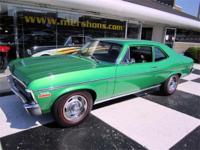 1970 Nova SS 396 Bright Green Metallic with Black