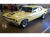 This 1970 Nova Super Sport is presented in (76)Daytona