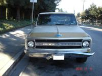 I AM SELLING MY PROJECT TRUCK. ITS A 1970 CHEVY TRUCK