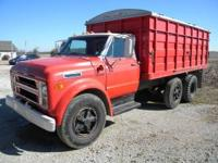 I have this 1970 Chevy C60 that is in really good