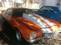 1970 Chevy Camaro for sale (FL) - $8,500 Camaro Working