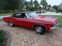 For Sale 1970 Chevy Impala Convertible. In 1970
