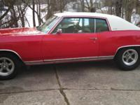 I Have A 1970 Chevy Monte Carlo Numbers Matching Car.