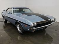 1970 RT Challenger with the highly sought after six