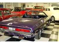 1970 Dodge Challenger Convertible 383 Automatic Plum