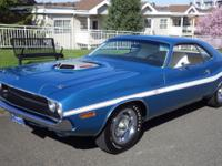 1970 Dodge Challenger R/T 440 Six-Pack Meticulously
