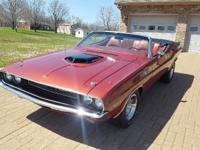 My fully restored 1970 Dodge Challenger Convertible has