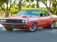 Up for sale is a 1970 DODGE CHALLENGER R/T, High